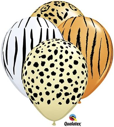 "Simply Woo Hoo White 11/"" Qualatex Latex Balloons x 5"