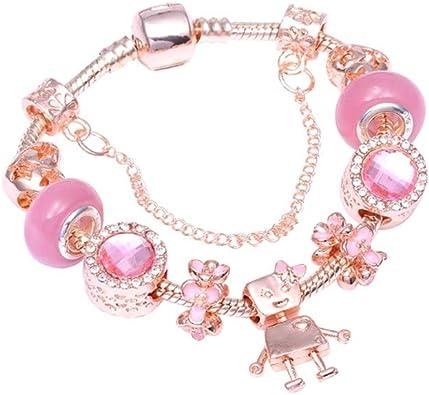 bracciale pandora rosato