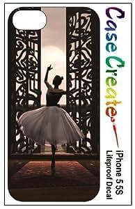 Ballerina Ballet Dancer Decorative Sticker Decal for your iPhone 5 5S Lifeproof Case