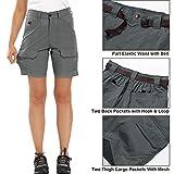 Jessie Kidden Women's Stretch Cargo Shorts, Quick