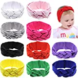 Globalsupplier Boutique Celtic Knot Headband Bulk for Infant Baby Girl Kids Toddlers (10 PCS PACK S16)