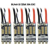 #6: Thriverline Acrotor BLHeli-32 ESC 30A 32Bit Brushless Electronic Speed Controller Support 2-4S Dshot1200 for FPV Multicopter Quadcopter (30A)
