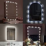 Makeup Mirror Light, iMazer Bathroom Vanity Light Kit,Vanity Mirror Light Kit for DIY Cosmetic Hollywood Make Up Mirror with Remote and Dimmer Switch 10FT 60LED
