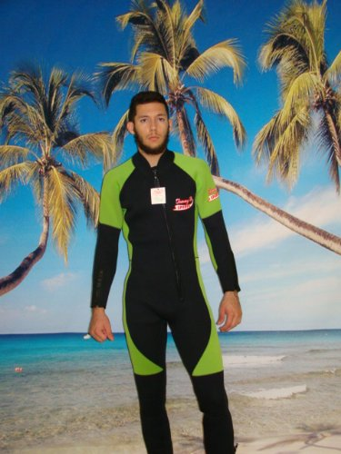TommyD Sports 5mm Wetsuit, Full Length Front Zipper, Arm ...