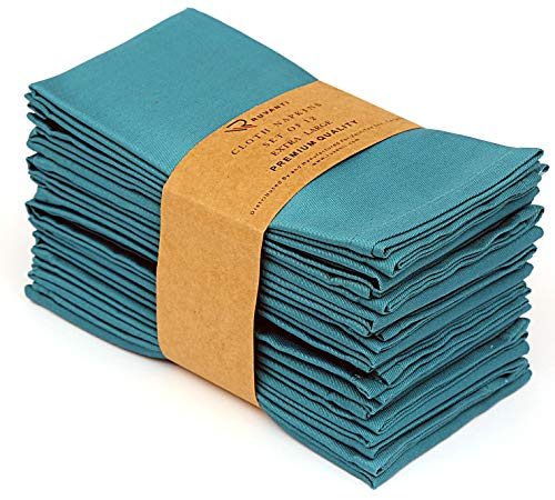 Ruvanti Cotton Dinner Napkins 12 Pack (18