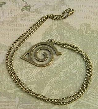 Amazon.com: Naruto collar, Hidden Leaf Village Símbolo ...