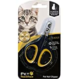 Pet Republique Professional Cat Nail Clippers - Claw Trimmer for Cat - Kitten - Puppy - Dog - Hamster - & Small Breed Animals (Mini Clipper)
