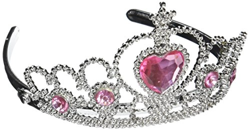 Rhode Island Novelty Tiara with Pink Heart -