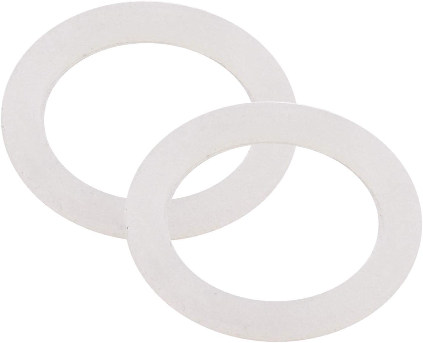 DERNORD Silicone Washer Gasket Sealing O Rings Inner Diameter: 41mm / 1.6