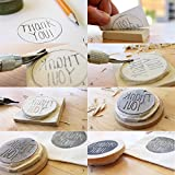 NBEADS Rubber Stamp Carving Blocks or Scrapbooking, Postcards, Invitation Cards, DIY Project