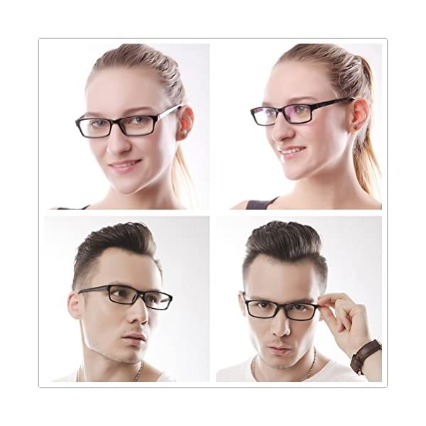 Reading Glasses Rectangle Full Rim Anti Reflective Men Women Eyeglasses Readers Comfortable