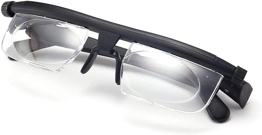 A&D Lentes Ajustables, Gafas De Lectura, Gafas De Conducción, Corrección De Lentes De Fuerza Ajustable Binoculares