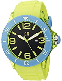 Men's 40NINE01/YELLOW Extra Large 50mm Colorful Watch