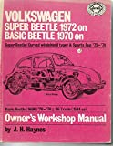 img - for Volkswagen Beetles Owners Workshop Manual: Super Beetle 1970 on; Basic Beetle 1970 on book / textbook / text book