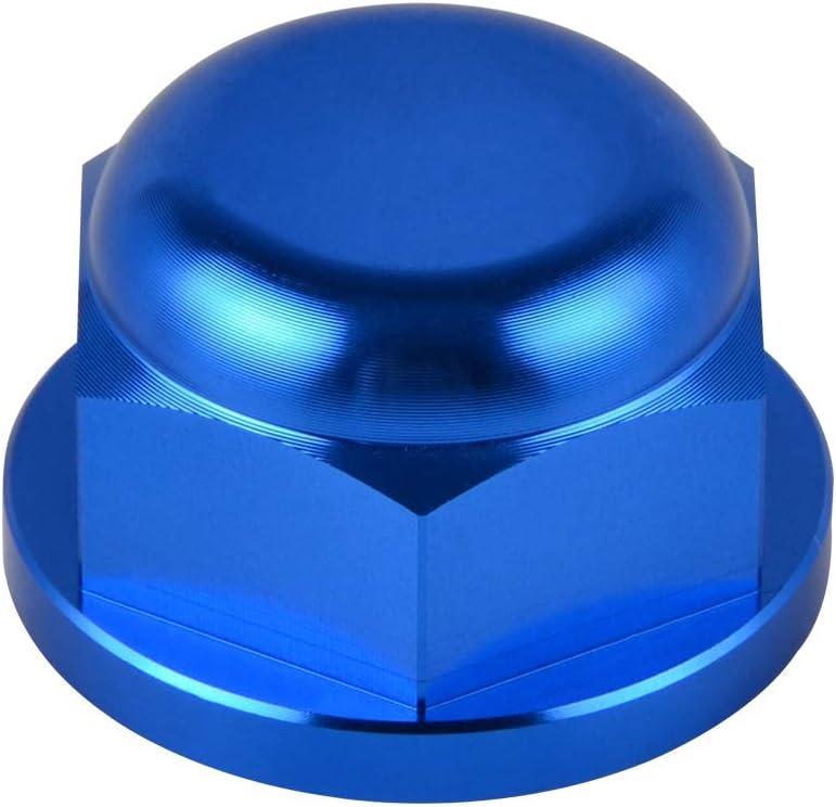 Color : Bleu Pour vous Roue arri/ère de verrouillage de la broche Pin Ecrou for KTM 85 125 150 200 250 300 350 450 500 530 SX SX-F XC XC-F EXC Six jours de course EXC-F 00-2019