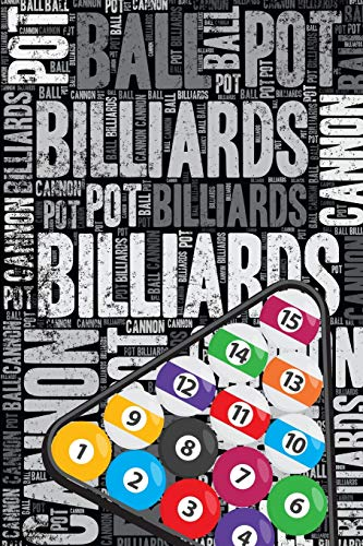 Billiards Journal: Cool Blank Lined Billiards Lovers Notebook For Player and Coach por Elegant Notebooks