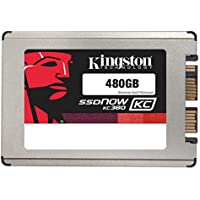 Kingston Digital, Inc. SSDNow KC380 480GB SSD Micro SATA 3 1.8-Inch SKC380S3/480G