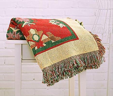 gyjz 100% algodón inalámbrico protectora, toalla/manta/cama sofá manta/Tapiz/moqueta 220260CM: Amazon.es: Hogar