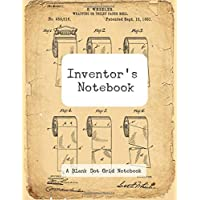 "Inventor's Notebook: Dot Grid, 100 Consecutively Numbered Pages (8.5"" x 11"")"
