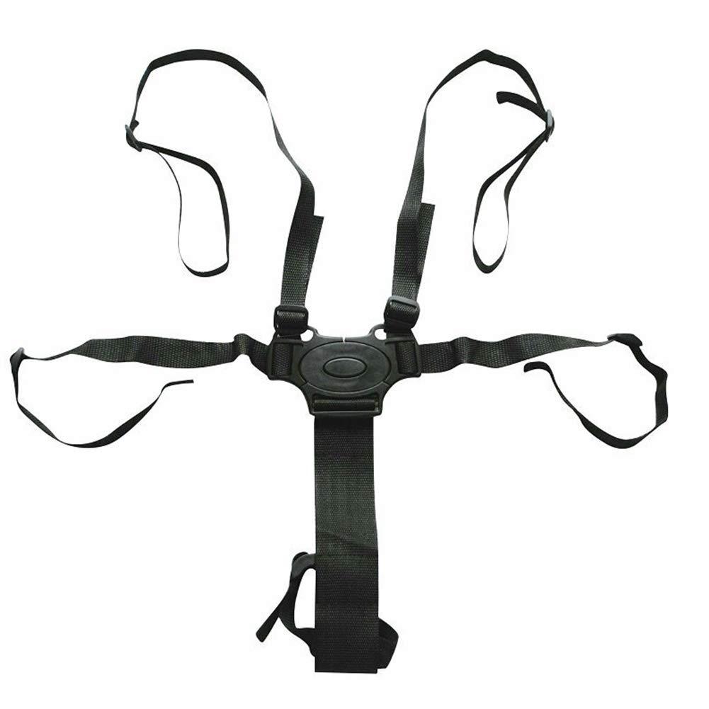 Cintur/ón de Seguridad Ajustable para beb/é 5 Point Baby Seat Belt arn/és Universal de 5 Puntos para beb/é con Almohadillas para el Hombro para Cochecito Show
