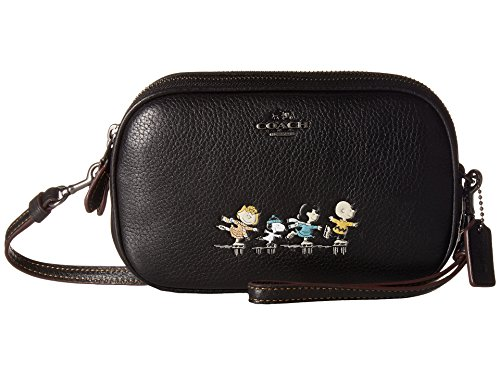 COACH Women's Box Program Snoopy Crossbody Clutch Qb/Black One Size by Coach