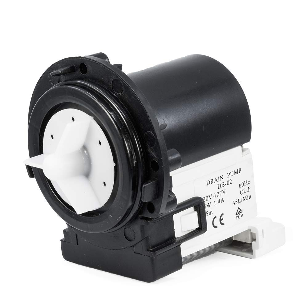 LG 4681ea2001t Drain Pump Motor for Washing Machine Replaces 4681EA2001D AP5328388 PS3579318