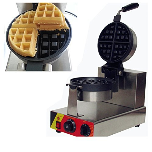 np-546 eléctrico comercial giratoria huevo Waffle Baker ...