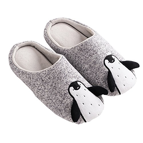 Forucreate Winter Warm Couples House Slippers