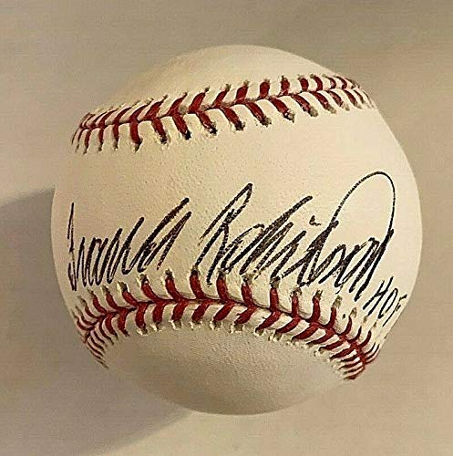 (Frank Robinson Autographed Signed Official MLB Baseball Beckett Bas G68247 Hof - Authentic Memorabilia)