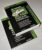 2005 Toyota Land Cruiser Repair Manuals (UZJ100 Series, 2 Volume Set)