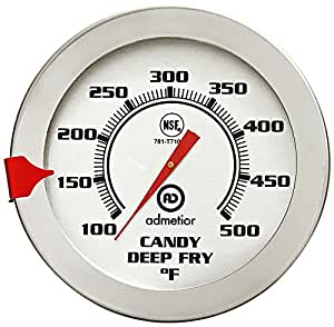 Admetior 12-Inch Candy/Deep Fry Thermometer
