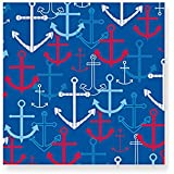 Design Design Anchors Away Cocktail Napkins, Multicolor