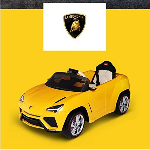 Danybaby Lamborghini Authorized 2017 Lamborghini Urus Upgraded Version 12V Electric Ride On Car Battery Powered Led Kids Vehicle With Remote Control Yellow By Danybaby Seller