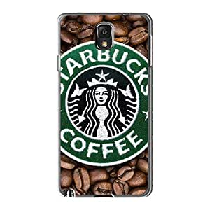 Excellent Hard Phone Case For Samsung Galaxy Note 3 With Unique Design Attractive Starbucks Skin Iphonecase88