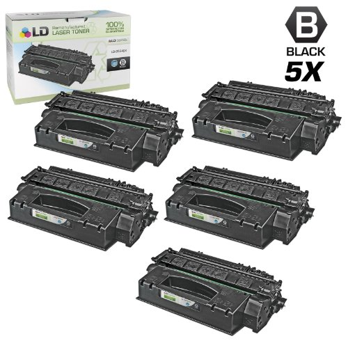 LD Compatible Toner Cartridge Replacement for HP 49X Q5949X High Yield (Black, 5-Pack)