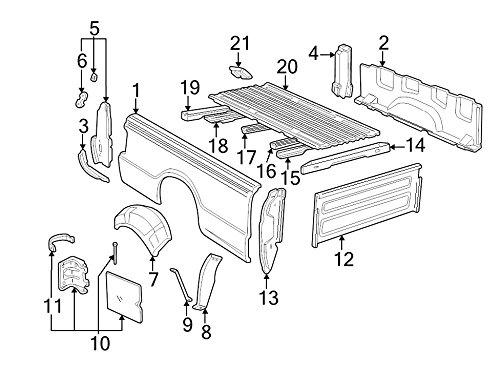 Ford F37Z-99405A26-A - DOOR - FUEL TANK FIL