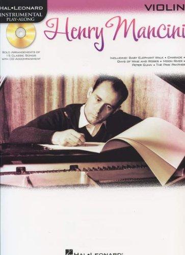 Read Online Henry Mancini: Instrumental Play-Along for Violin (Hal Leonard Instrumental Play-Along) pdf epub