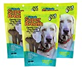 Fido Dental Care Belly Bones For Dogs, Made With Kelp, Parsley and Chlorophyll - Naturally Freshens Breath, Reduces Plaque and Whitens Teeth - 8 Medium Treats Per Pack, Pack of 3