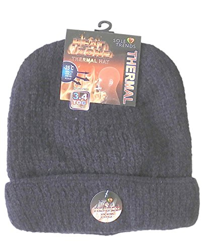 DINY Home & Style Unisex Heated Beanie Cap Thermal Cap Insulated Lined Interor to Keep Heat from Escaping Keeping You Warm - Electric Beanie