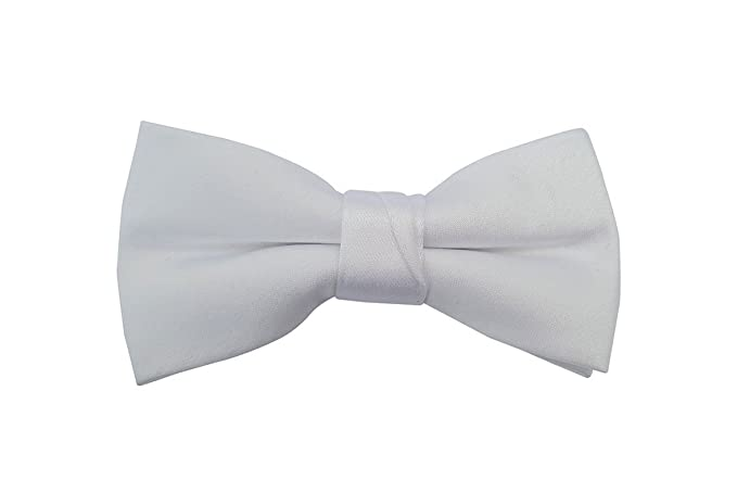 40dbfd39d2ba Amazon.com: White Baby Toddler Ring Bearer Kids Bow Tie (large, white):  Clothing