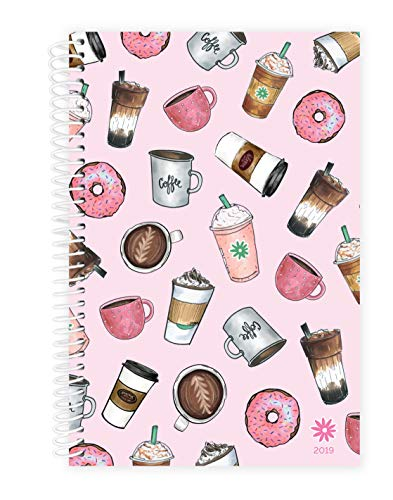 - bloom daily planners 2019 Calendar Year Day Planner - Passion/Goal Organizer - Monthly and Weekly Dated Agenda Book - (January 2019 - December 2019) - 6
