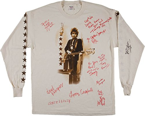 Bob Dylan - Shirt Signed with (Bob Dylan Signed)