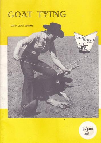 Goat tying (A Western horseman book)