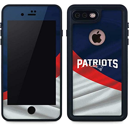 the latest 37a99 3d574 Amazon.com: Skinit NFL New England Patriots iPhone 7 Plus Waterproof ...