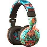 Skullcandy Hesh 2.0 Headphones with Mic 8 Bit Granny Floral/Black/Red, One Size