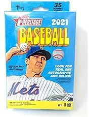Topps 2021 Heritage Baseball Hanger Pack