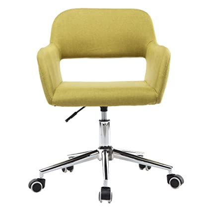 39063ffc3 Image Unavailable. Image not available for. Color  WQ-Directors Chairs  Office Chair Mid Back Swivel Lumbar Support Desk ...