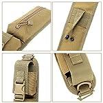 TRIWONDER Sac Supplémentaire Tactique Molle Pochette Sac à Dos Bandoulière Étui Militaire Accessoires Épaule pour Outils… 8
