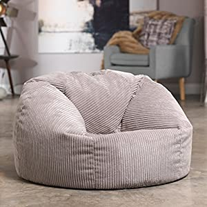 Luxury Jumbo Cord Bean Bag Snuggle Chair Giant Luxury
