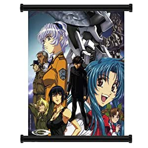 """Full Metal Panic Anime Fabric Wall Scroll Poster (32""""x 35"""") Inches"""